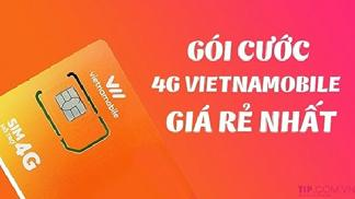 Tổng hợp các gói mạng Vietnamobile theo ngày, theo tháng
