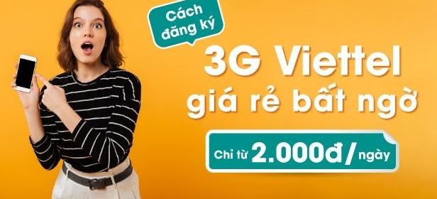 Đăng ký mạng Viettel ngày giá rẻ