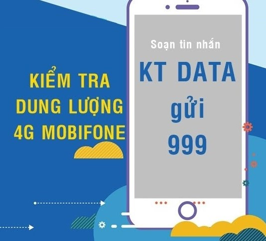 cú pháp kiểm tra data sim Mobifone