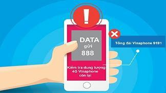 Hướng dẫn các cách kiểm tra dung lượng 4G Vinaphone 2021