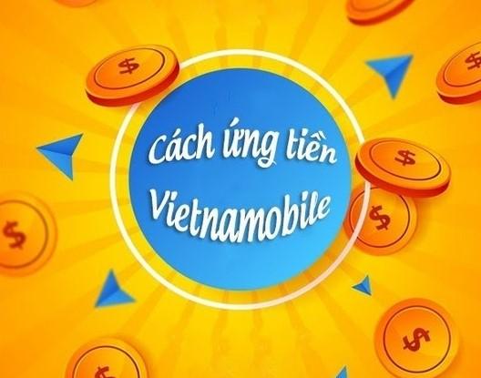 cách ứng tiền Vietnamobile 50k