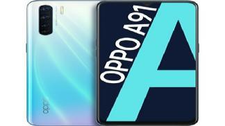 Điện thoại Oppo A91 độc đáo, camera sắc nét giá bao nhiêu?