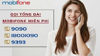 Số gọi tổng đài Mobifone miễn phí 9090 - 9393 - 18001090